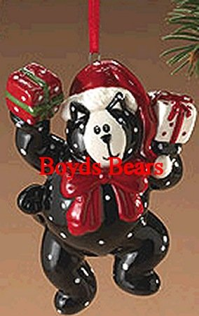 "Boyds Bears Here Kitty Cat ""Dancing Kitty"" Christmas Ornament #810331 – Retired"