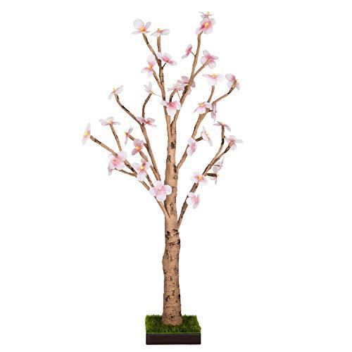 Hallmark Keepsake Christmas Ornament Whimsical Display Flower Blossom Tree with LED Lights, 23″,