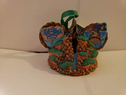 Parks Disney Splash Mountain Mickey Ears Ornament