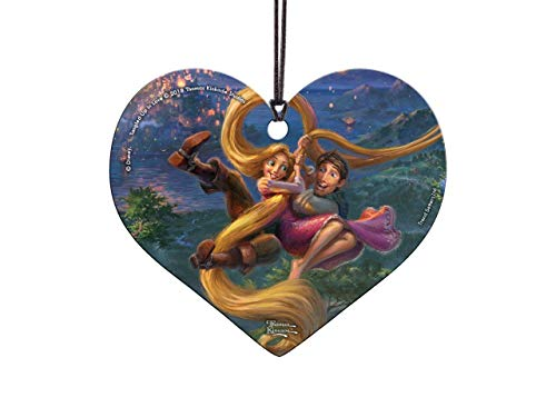 Trend Setters Disney – Tangled – Rapunzel and Flynn – Tangled Up in Love – Thomas Kinkade – Hanging Acrylic Print