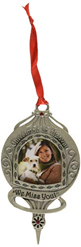 Cathedral Art CO745 Christmas in Heaven We Miss You Memorial Ornament, 4-5/8-Inch