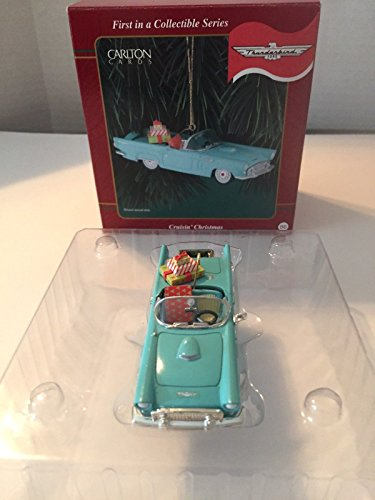 Carlton Cards Crusin' Christmas 1956 Ford Thunderbird Ornament