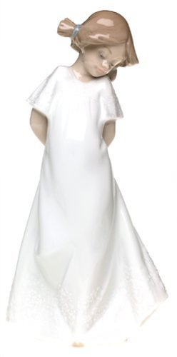 Nao 02001109 So Shy Figure Ornament by LLADRO