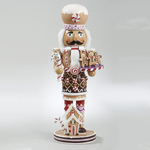 Kurt Adler 16-Inch  Wooden Gingerbread Christmas Nutcracker