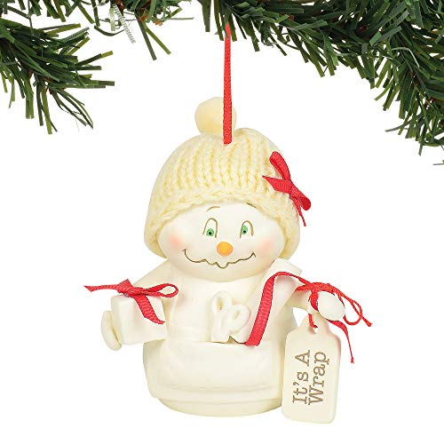 Department 56 Snowpinions It's a Wrap Hanging Ornament, 3.375″, Multicolor