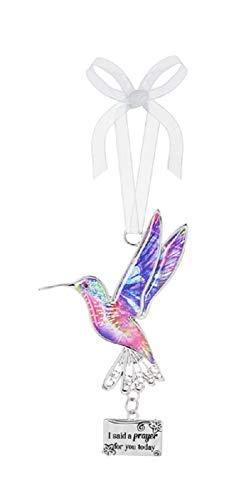 Ganz Decor Life is Beautiful Hummingbird Ornament 3.75″ H (I Said a Prayer for You Today)