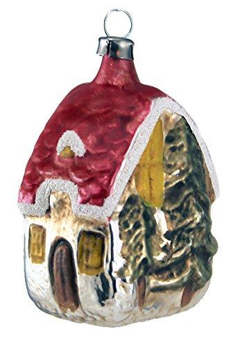 Marolin Forest House MA2011014 German Glass Ornament w/Gift Box