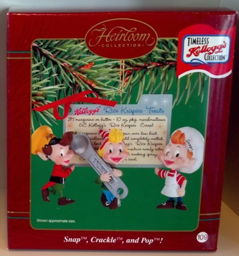 Carlton Heirloom Collection Ornament Timeless Kellogg's Collection 'Snap, Crackle, and Pop!' – 2002