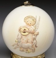 Hummel Festival Harmony with Mandolin Ball Ornament