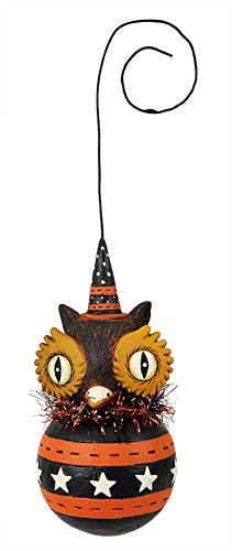 Johanna Parker Owl Ball Ornament