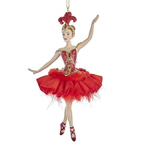Kurt Adler 6.5-inch Resin Fire Bird Ballerina Ornament