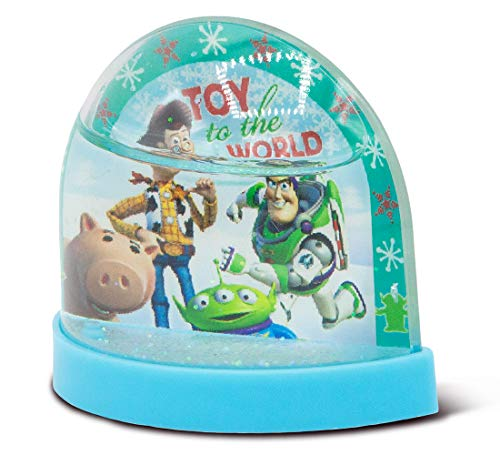 Ruz Toy Story Mini 3 Inch Plastic Holiday Snowglobe