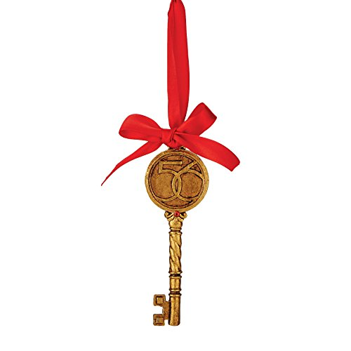 Department 56 Christmas Basics Anniversary Key Ornament, 4.75 inch
