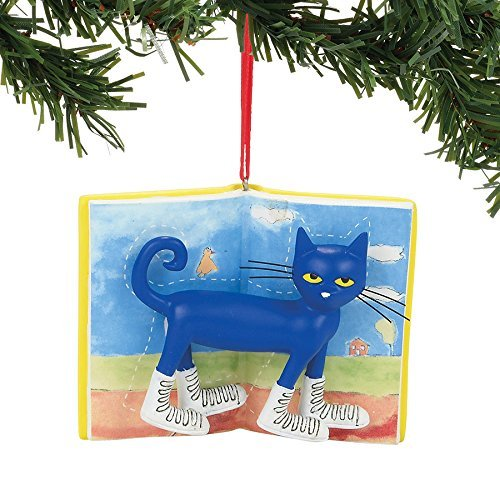Department 56 Pete the Cat I Love My White Shoes Hanging Ornament