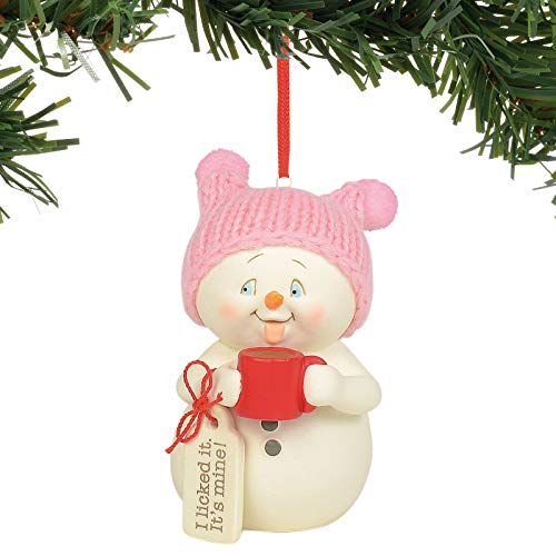 Department 56 Snowpinions I Licked It It's Mine Hanging Ornament, 1.75″, Multicolor