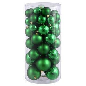 Vickerman 24″-3″-4″ Green Balls Shiny/Matte 50 per Box