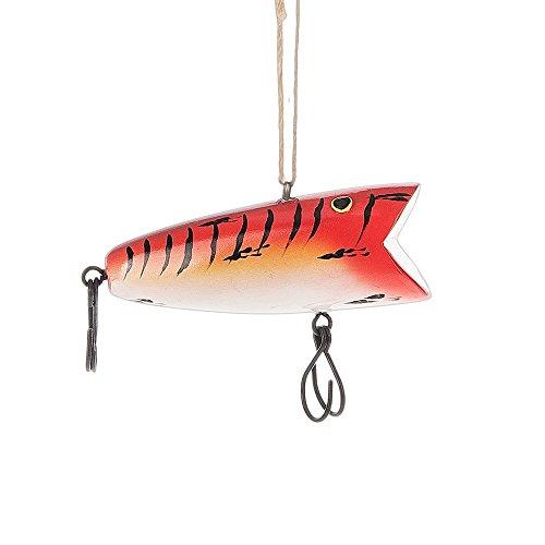 Midwest CBK Orange Fishing Lure Ornament