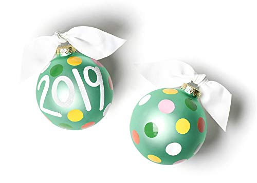 Coton Colors 2019 Glass Ornament
