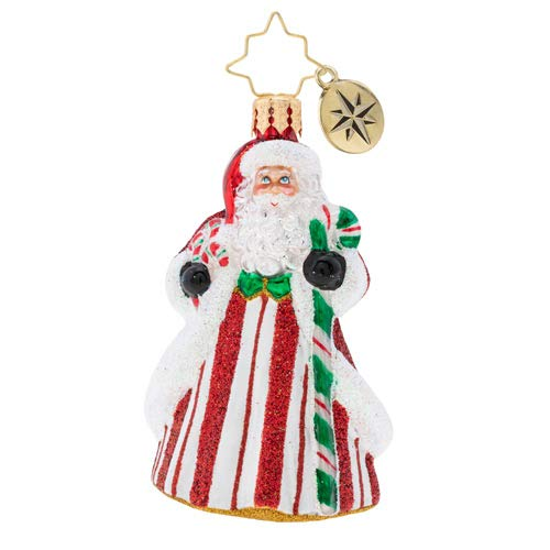 Christopher Radko Peppermint Candy Kringle Gem Christmas Ornament