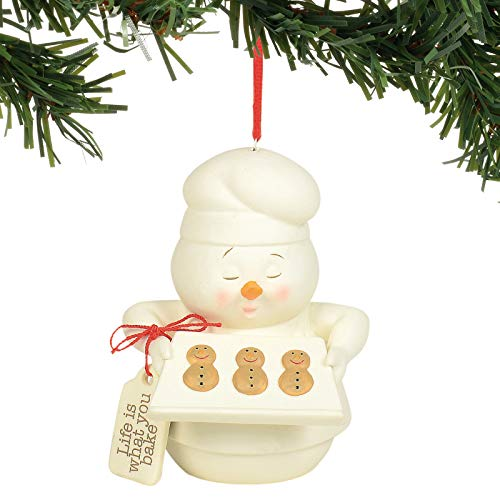 Department 56 Snowpinions Life is What You Bake it Hanging Ornament, 3.5″, Multicolor