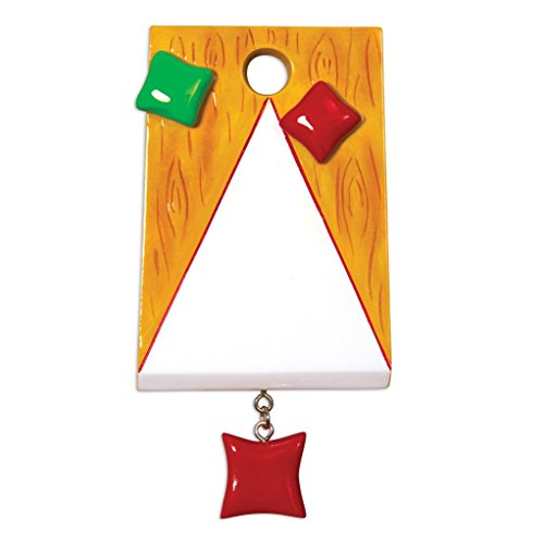 Polar X Hobbies Activities Corn Hole Bag TOSS Personalized Christmas Tree Ornament