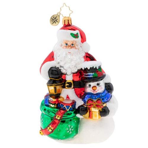 Christopher Radko Delivery Duo Christmas Ornament, Multi