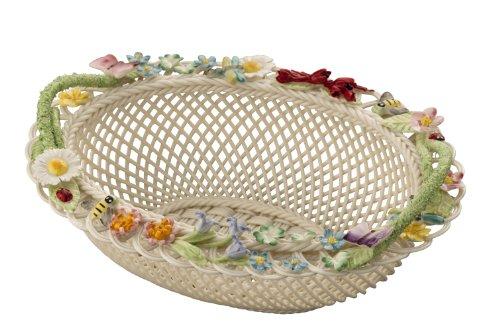 Belleek 3600 Baskets Gift Basket, Queens Royal