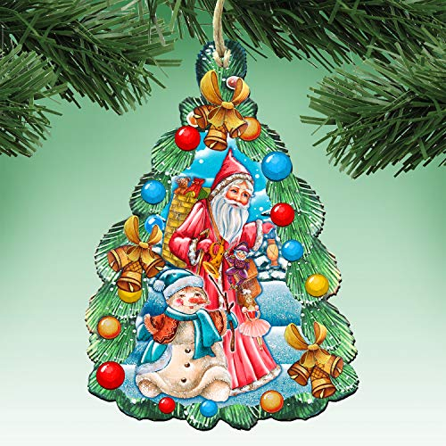 G. Debrekht Christmas Ornaments – Decorative Holiday Ornament 8114020