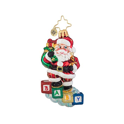 Christopher Radko Baby Steps Gem Christmas Ornament