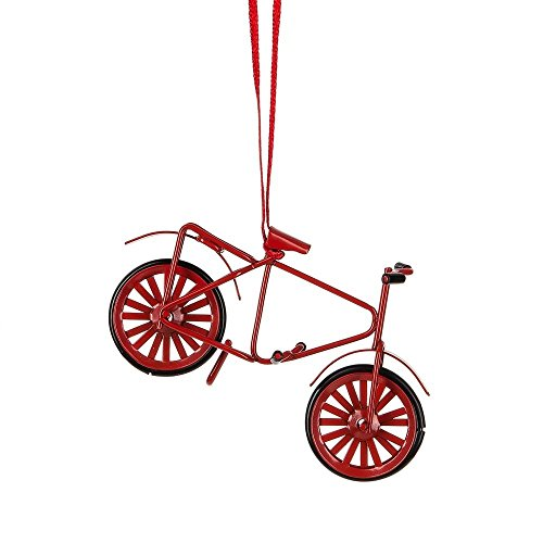 Midwest CBK 3.5″ x 2.5″ Red Metal Bicycle Ornament