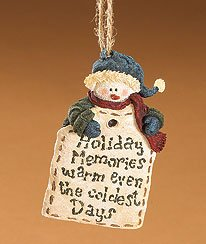 Boyds Bears Mr. Freezy Ornament