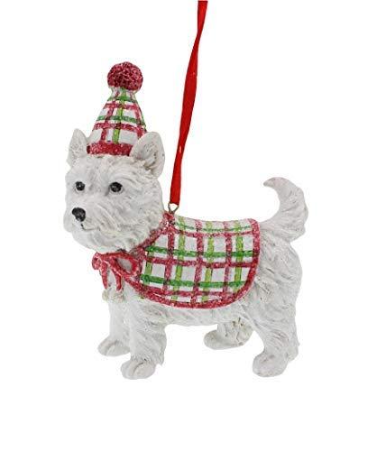 Raz Westie West Highland Festive Dog Ornament