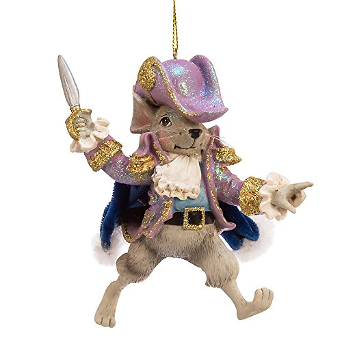 Kurt Adler Kurt S. Adler 6-Inch Resin Mouse King Ornament