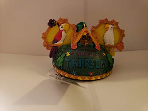 Parks Disney Enchanted Tiki Room Mickey Ears Ornament