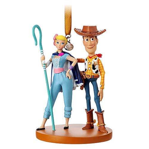 Disney Pixar Woody and Bo Peep Sketchbook Ornament – Toy Story 4