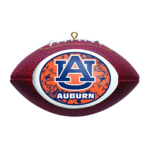 NCAA Auburn Tigers Replica Football Ornament