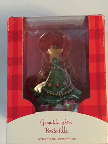 Giftamillion Attractive and Beautiful Granddaughter Ornament by Carlton