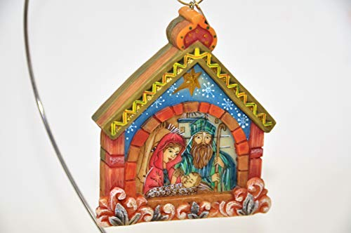 G. Debrekht Nativity Scene Christmas Tree Ornament