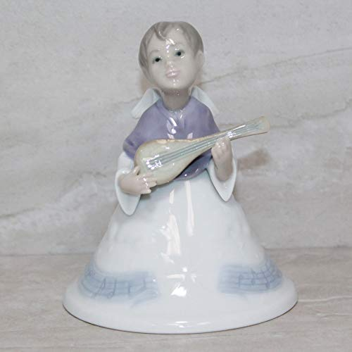 Lladro Ornament 6498 Heavenly Musician Bell
