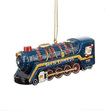 Kurt Adler Santa Express Train Resin Ornament