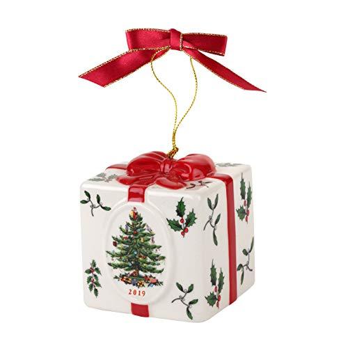 Spode Christmas Tree Box Ornament 2019