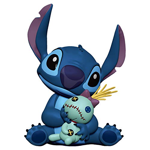 Hallmark Keepsake Christmas Ornament 2019 Year Dated Disney Lilo & Stitch, Stitch and Scrump,