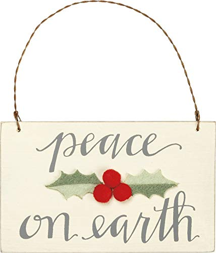 Primitives by Kathy Peace on Earth Hanging Ornament