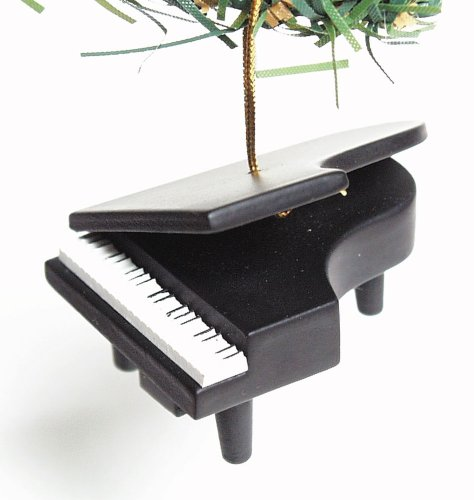 Music Treasures Co. Small Grand Piano Christmas Ornament