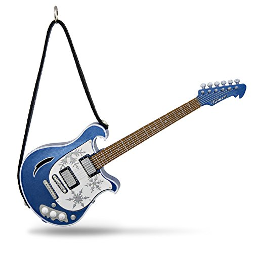 Hallmark Keepsake Christmas Ornament 2018 Year Dated, Free Bird Guitar With Music