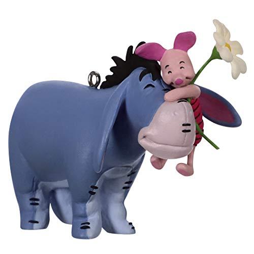 Hallmark Keepsake Christmas Ornament 2019 Year Dated Disney Winnie The Pooh A Hundred Acre Hug Eeyore and Piglet,