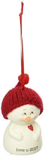Department 56 Snowpinions Love You 2017 Hanging Ornament