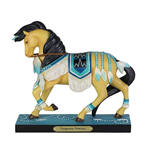 Enesco Trail of Painted Ponies Turquoise Princess Figurine 7″ Multicolor