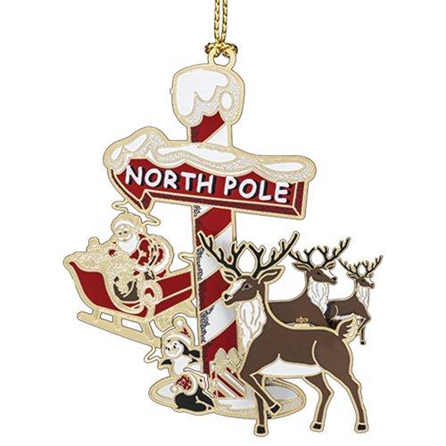 Beacon Design by ChemArt North Pole Ornament