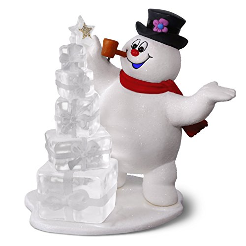Hallmark Keepsake Christmas Ornament 2018 Year Dated, Frosty the Snowman A Jolly Happy Holiday